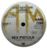 Sex Pistols - 'Single Centre' Button Badge